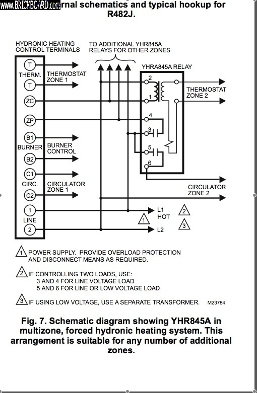 Volvo  -- Relay Schematic